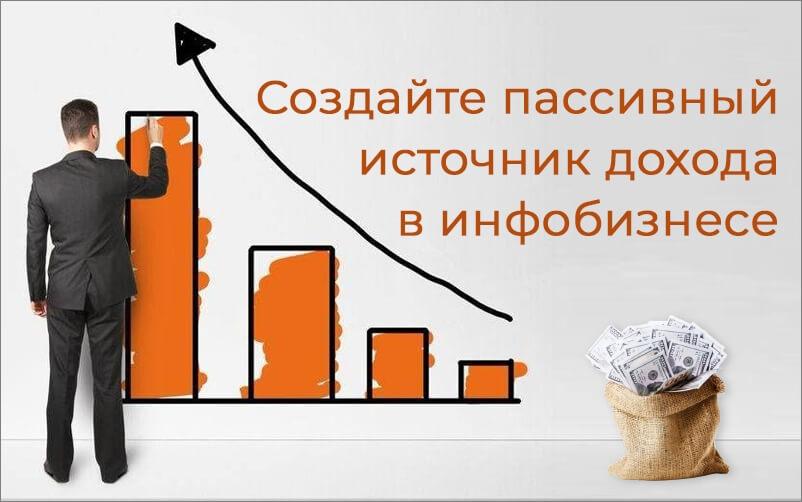 Продажа инфопродуктов - настоящий пассивный доход